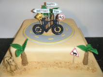 dubi-cycling-themed-cake
