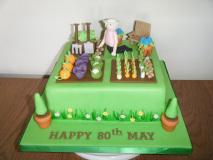 gardening-80th-cake