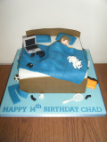 14th-bd-boy-in-bed-cake