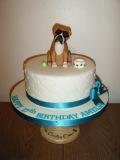 boxer-dog-topper-cake