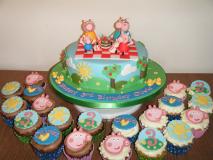peppa-pig-picnic-and-cupcakes