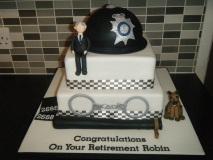 police-retirement-cake